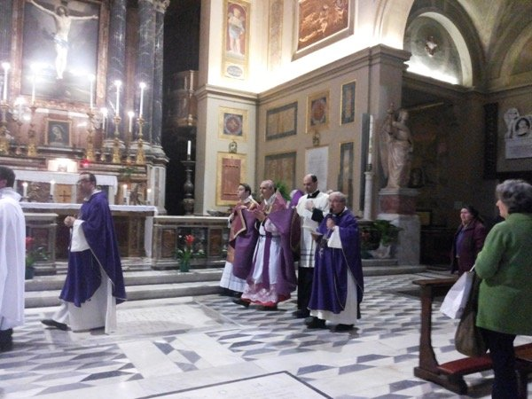 templari cattolici d'italia basilica di san lorenzo roma