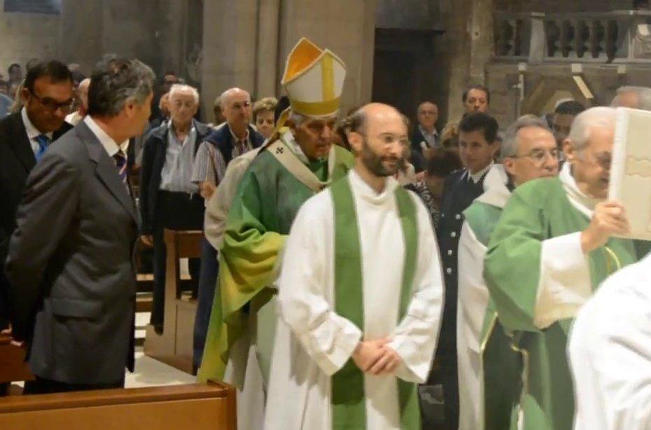 I Templari Cattolici d'Italia partecipano alle celebrazioni presiedute da Sua Eminenza Cardinale Menichelli ad Ancona.