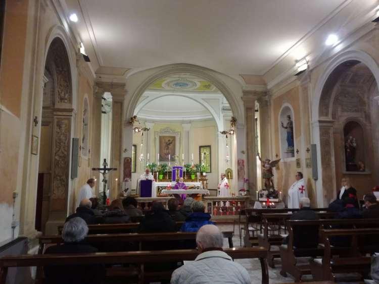 I Templari Cattolici d'Italia partecipano alla Celebrazione Eucaristica ad Aguscello, Ferrara.
