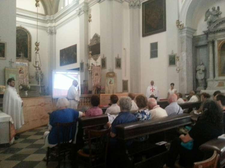 Santa Sindone, Udine