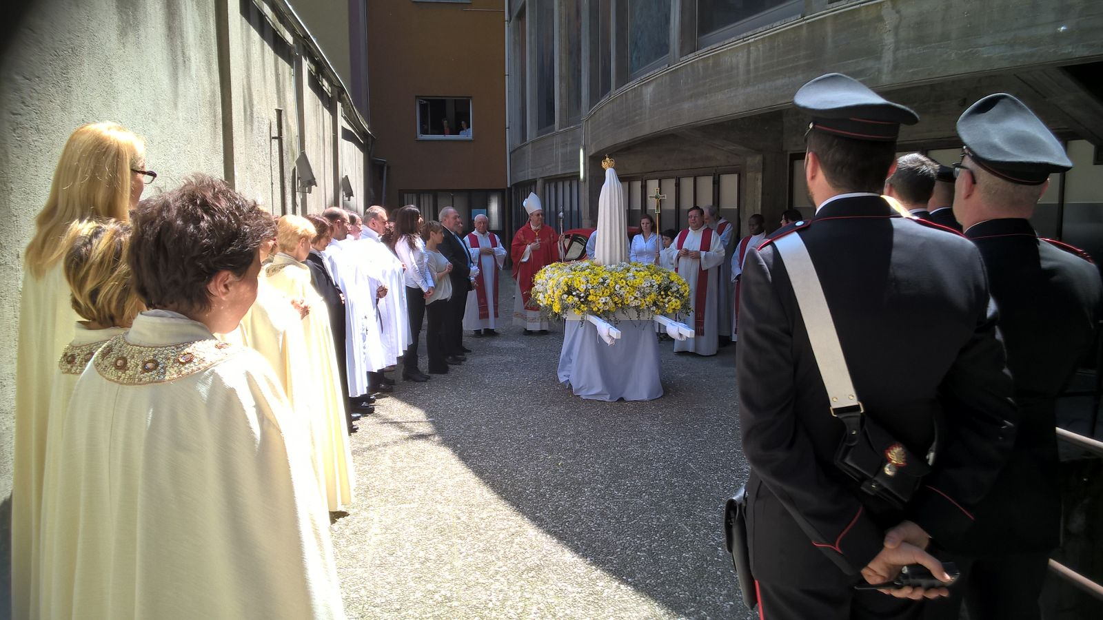 templari milano congedo madonna pellegrina