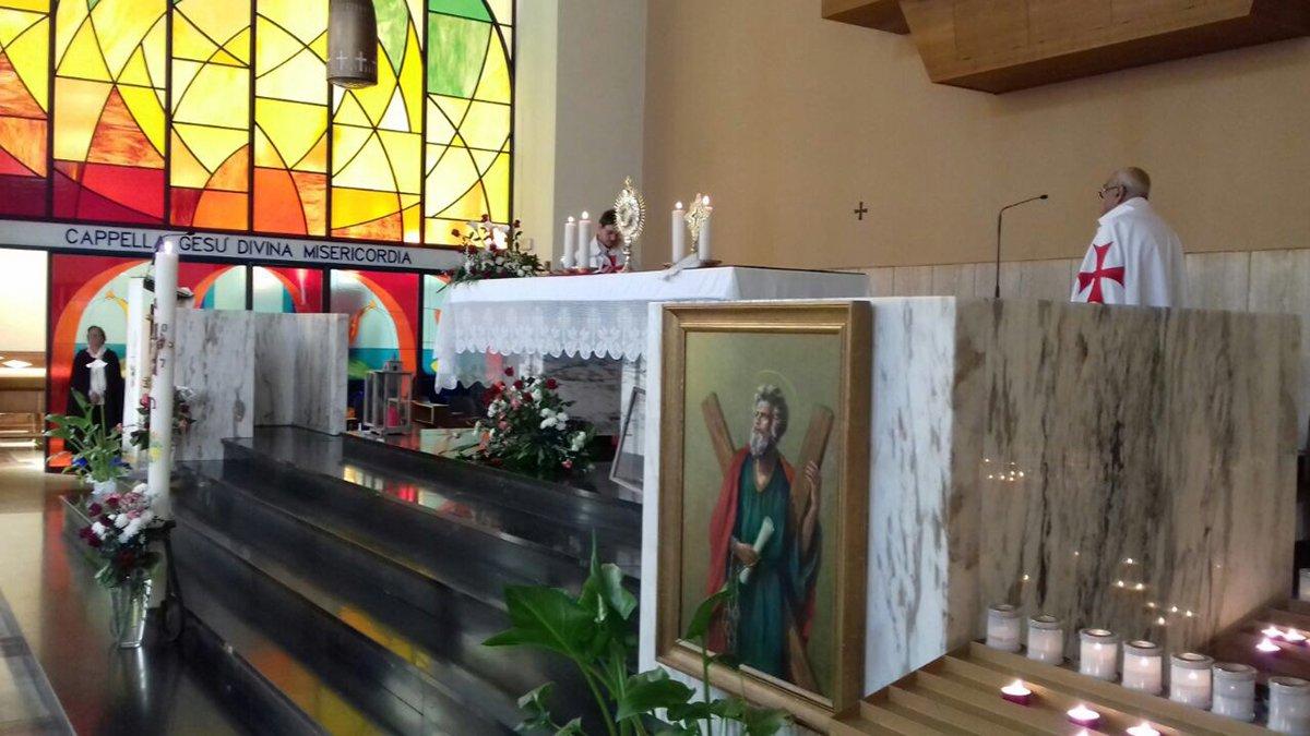 I Templari Cattolici d'Italia prestano servizio per le celebrazioni solenni in onore della festa patronale di Santa Rita a Trieste.