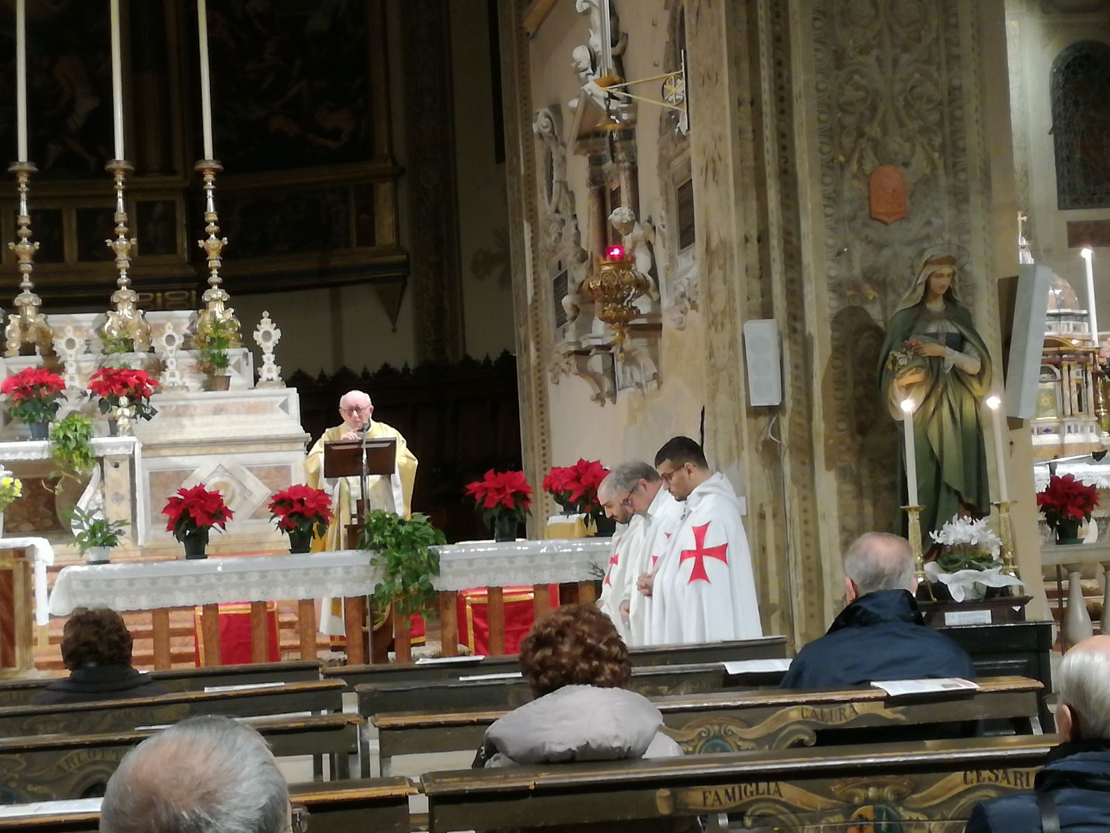 I Templari Cattolici d'Italia partecipano alla Celebrazione Eucaristica per la solennità di Epifania 2018 a Ferrara