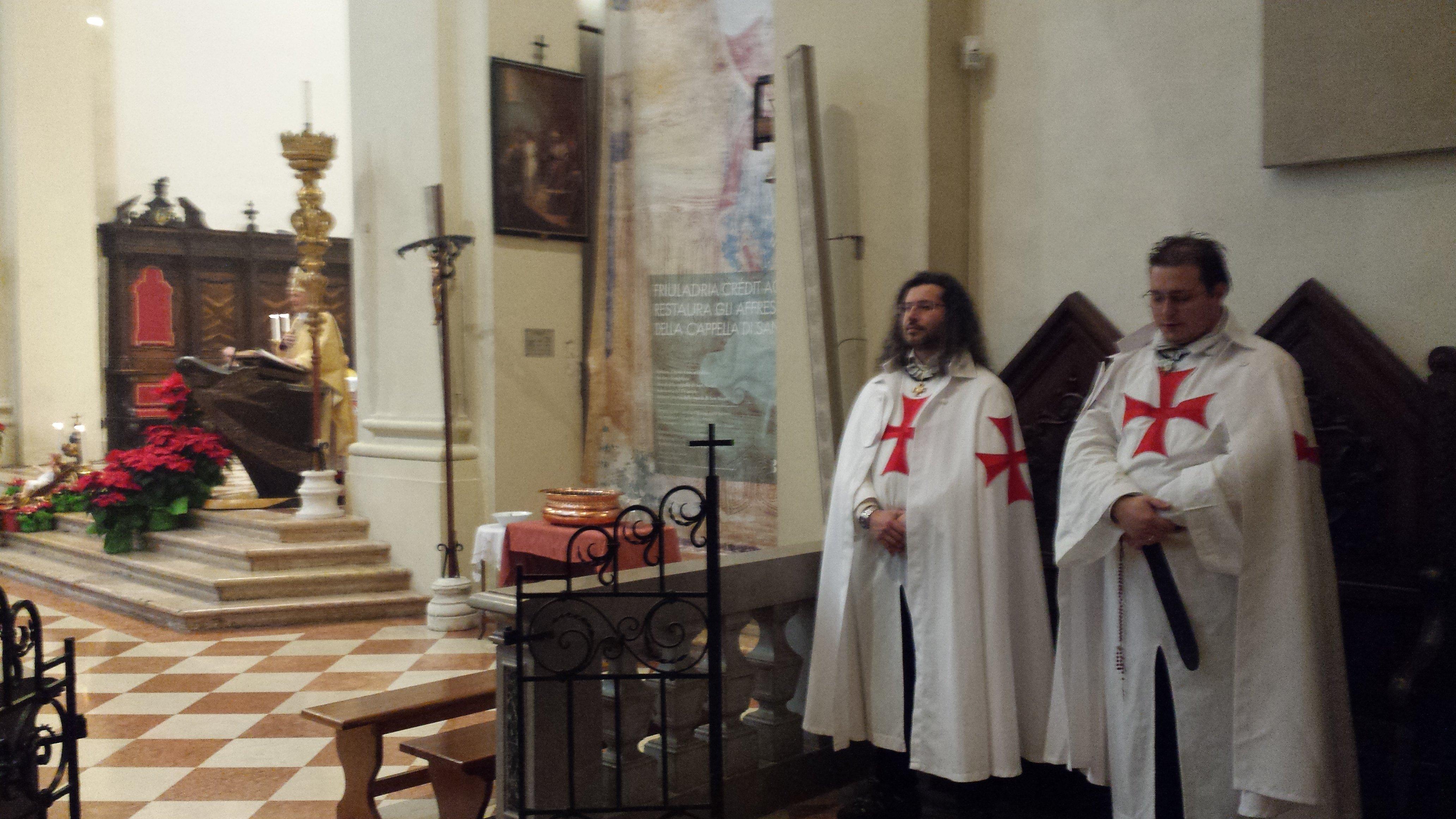 Templari oggi a Pordenone, vescovo Pellegrini