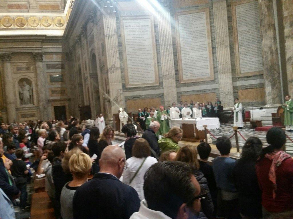 Templari con Cardinale Vicario di Roma S. EM. Agostino VALLINI