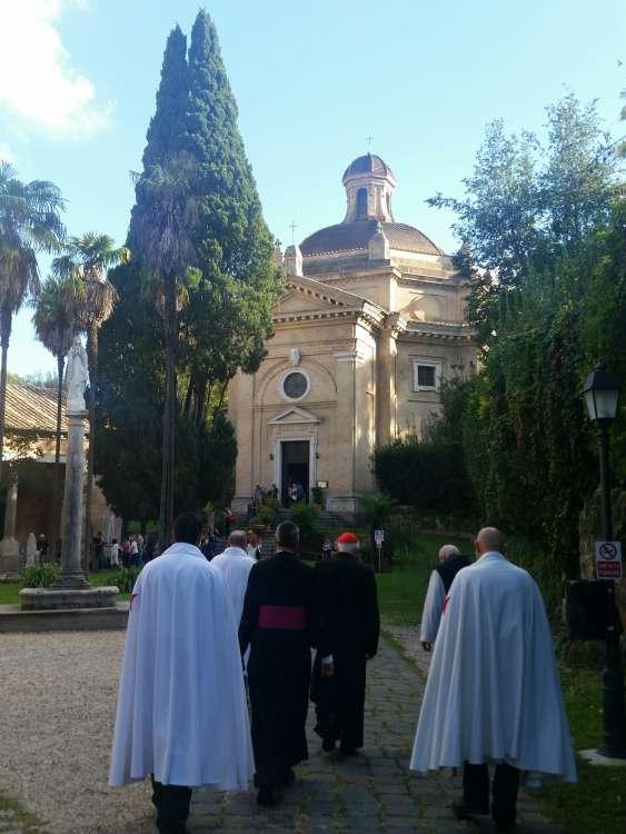 templari abbazia tre fontane roma