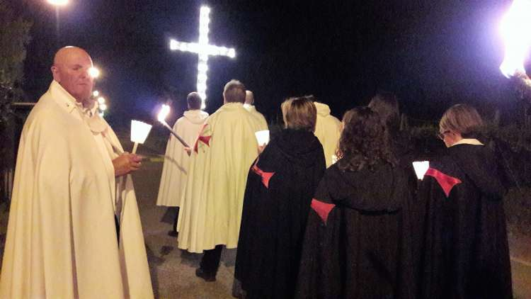 templari via crucis reggio emilia