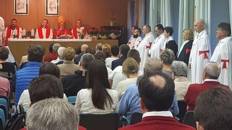 Templari con s.e. mons. Morandini