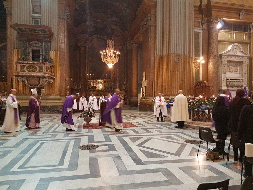 Santa Messa con S.Em. Mons. Giuseppe Card. Bertello