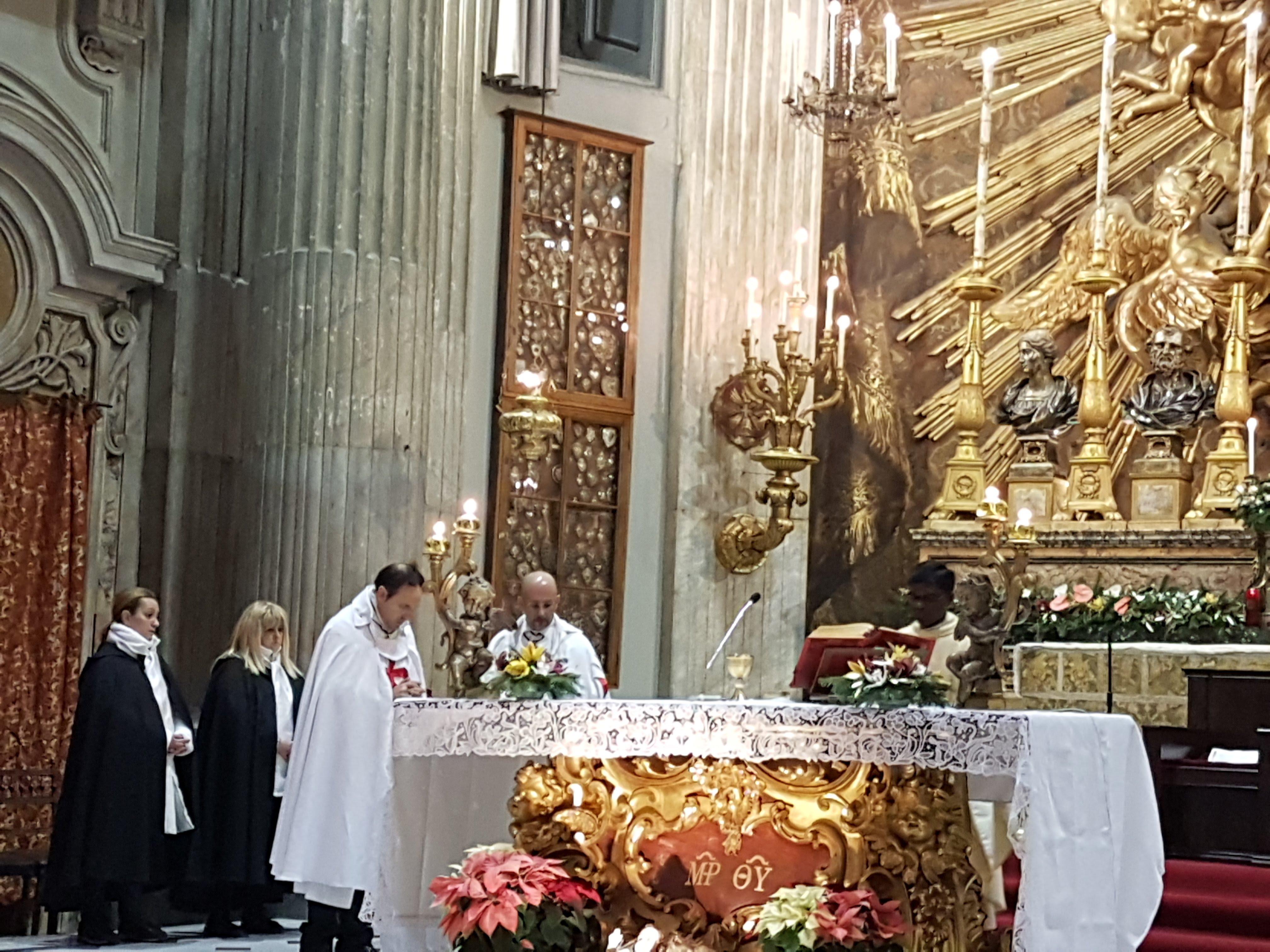 templari roma santa maria in portico in campitelli
