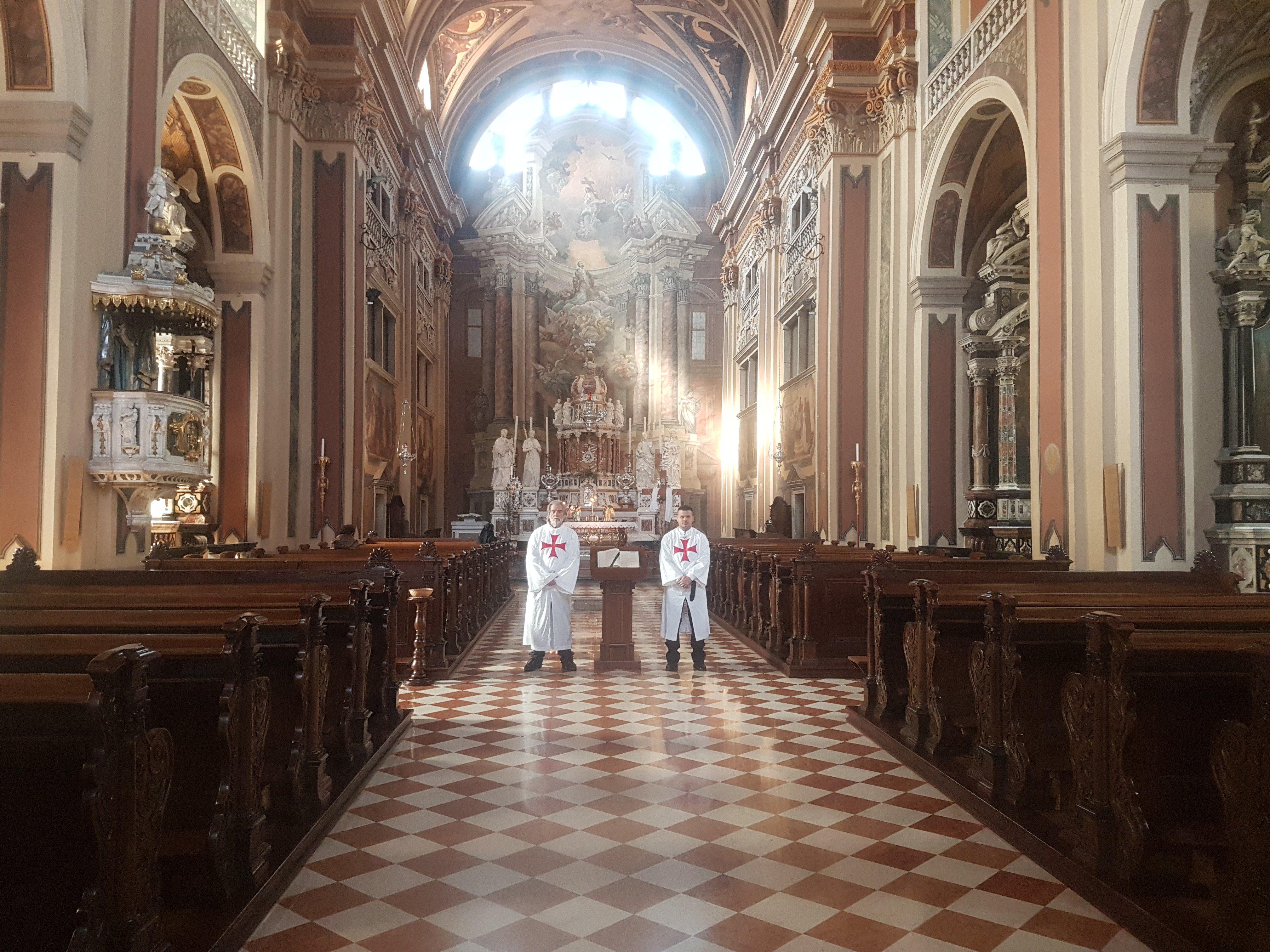 I Templari Cattolici d'Italia partecipano alle 40 ore di preghiera ed esposizione eucaristica a Gorizia. Dal Lunedì 26 a Mercoledì 28.