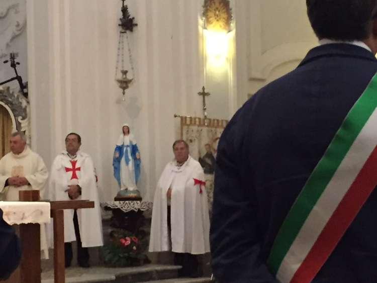 Templari Cattolici d'Italia alla Festività di San Francesco ad Avellino