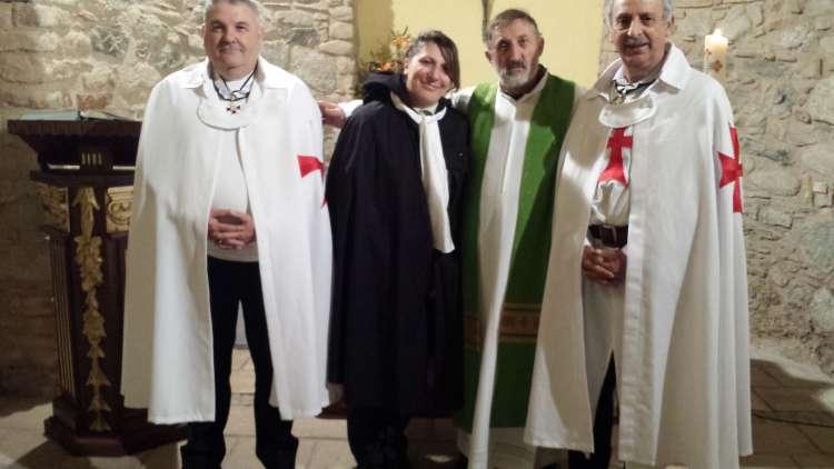I Templari Cattolici d'Italia partecipano alla Santa Messa presso il Santuario di Sant'Antonio Abate a Reggio Calabria