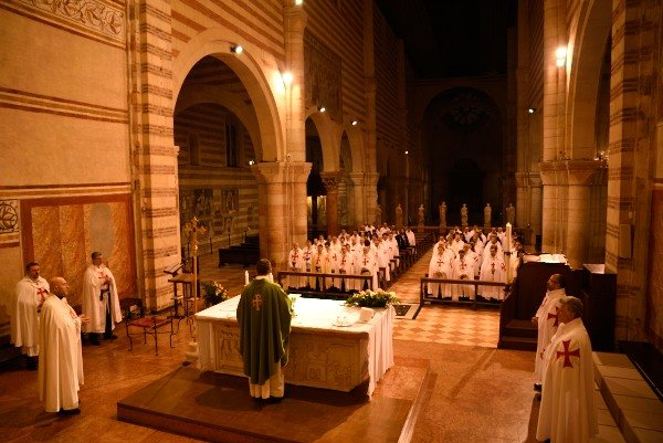 templari cattolici san zeno verona
