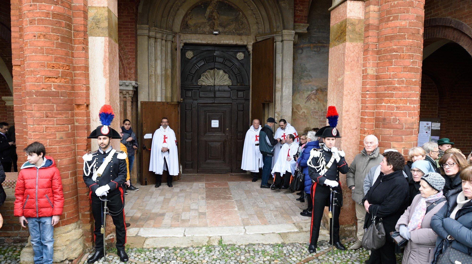 Templari Cattolici d'Italia a Chiaravalle