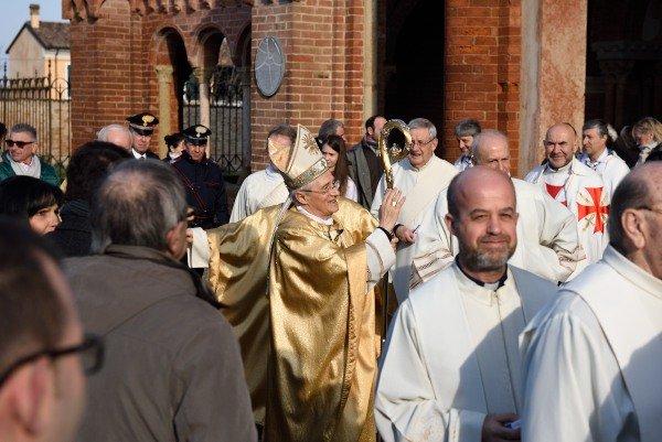 Templari Oggi Vescovo Piacenza Bobbio Gianni Ambrosio