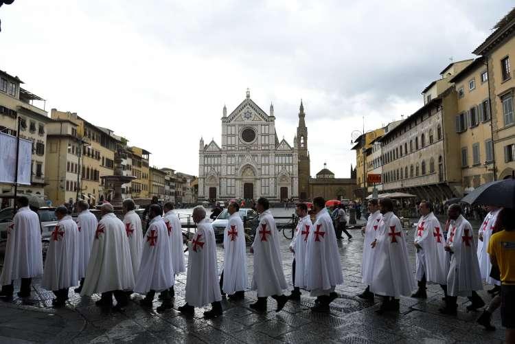 I Templari Cattolici D'Italia a Firenze