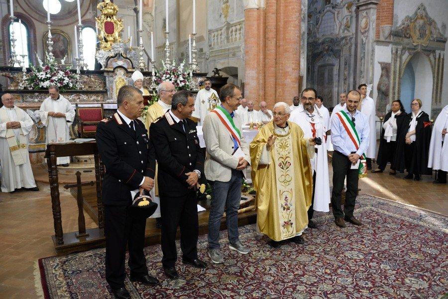 I Templari Cattolici d'Italia partecipano alla celebrazione della Santa Messa preceduta dalla Processione presso Chiaravalle.