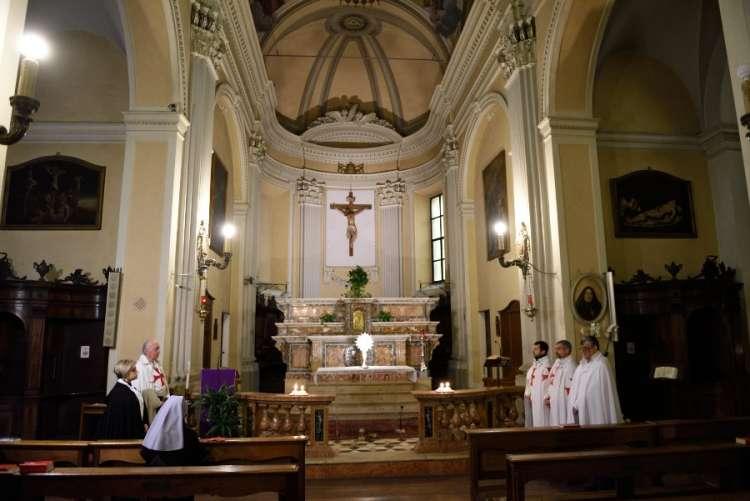 Fidenza – Chiesa di San Paolo Apostolo – templari foto1