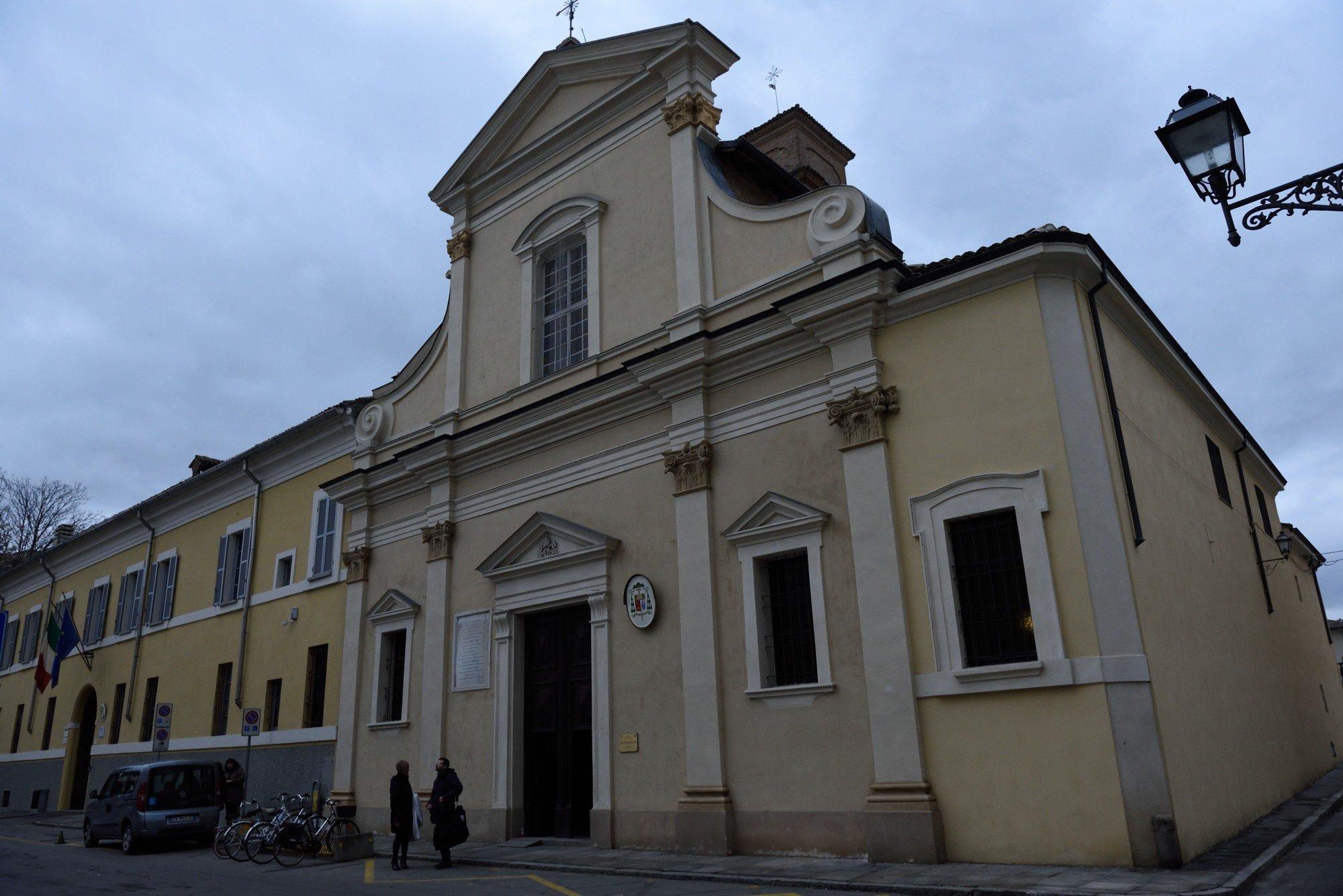 Fidenza - Chiesa di San Paolo Apostolo - templari foto2