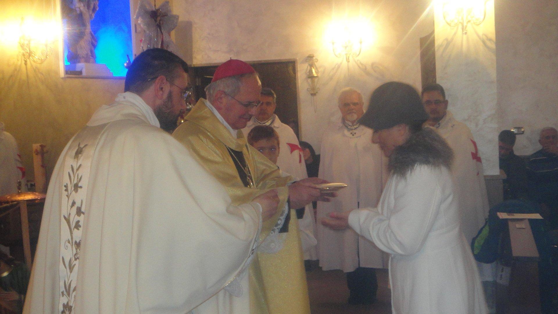Templari Cattolici Giugliano Mons. Spirillo