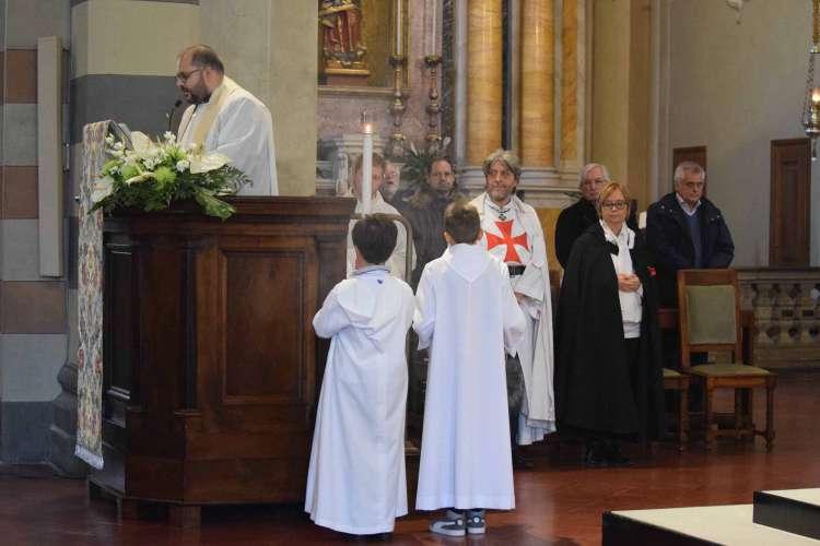 I Templari Cattolici d'Italia alla chiusura della Porta Santa a Bobbio