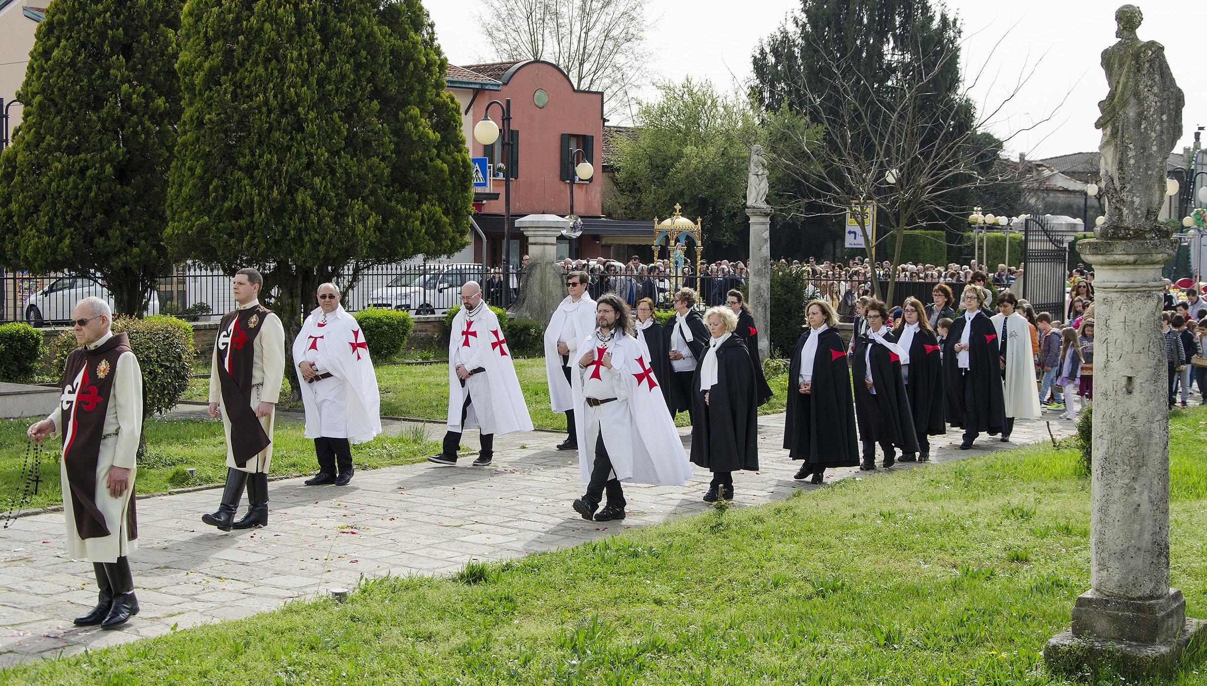 Templari Cattolici a Borbiago VE