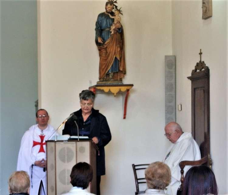 I Templari Cattolici d'Italia aprono il servizio presso la Chiesa di Santo Stefano e San Giuseppe lavoratore all'Ontraino a San Minato Basso.