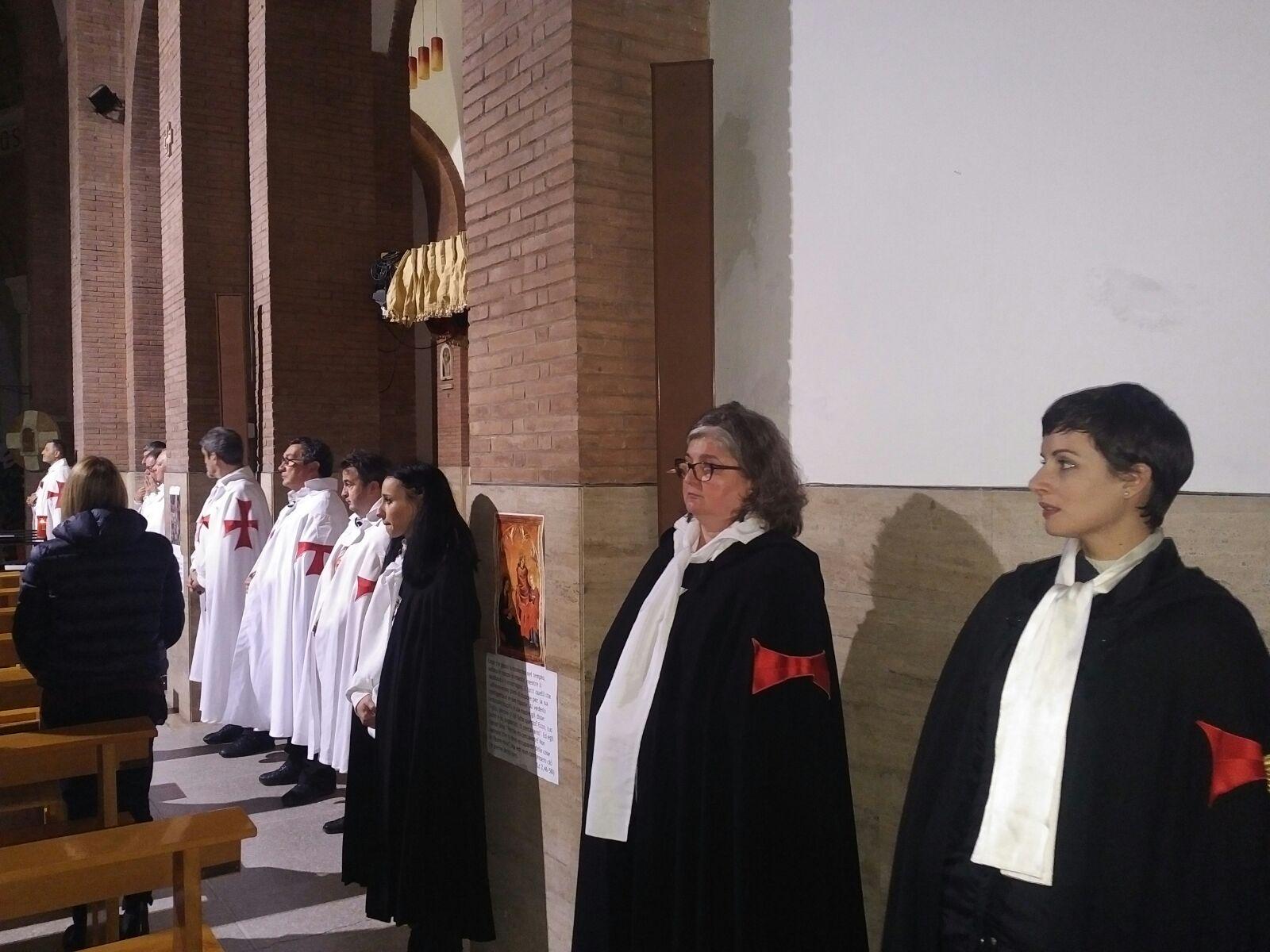I Templari Cattolici d'Italia partecipano alla Santa Messa, Camminata Silenziosa per la fede e Convegno Storico-Culturale a Grosseto.