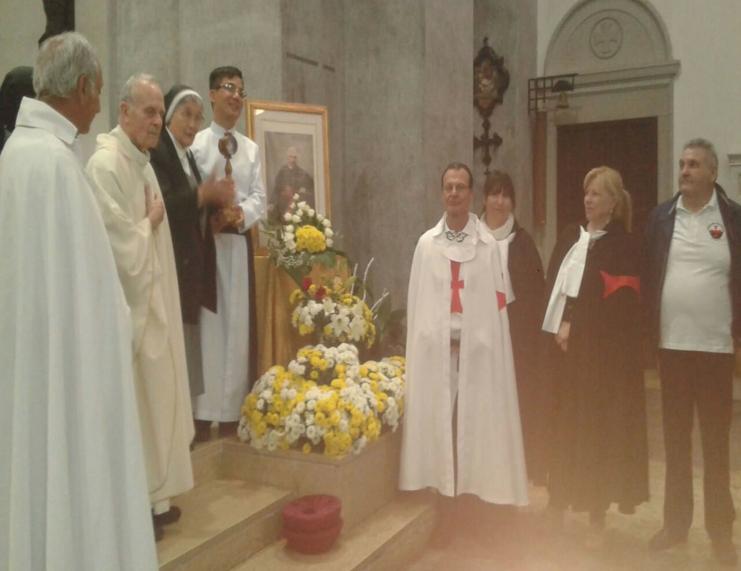 I Templari Cattolici d'Italia partecipano alle celebrazioni in occasione dell'anniversario della morte del Beato Giovan Battista Scalabrini a Reggio Calabria.
