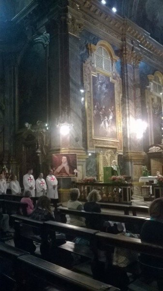 templari chiesa nonni papa francesco