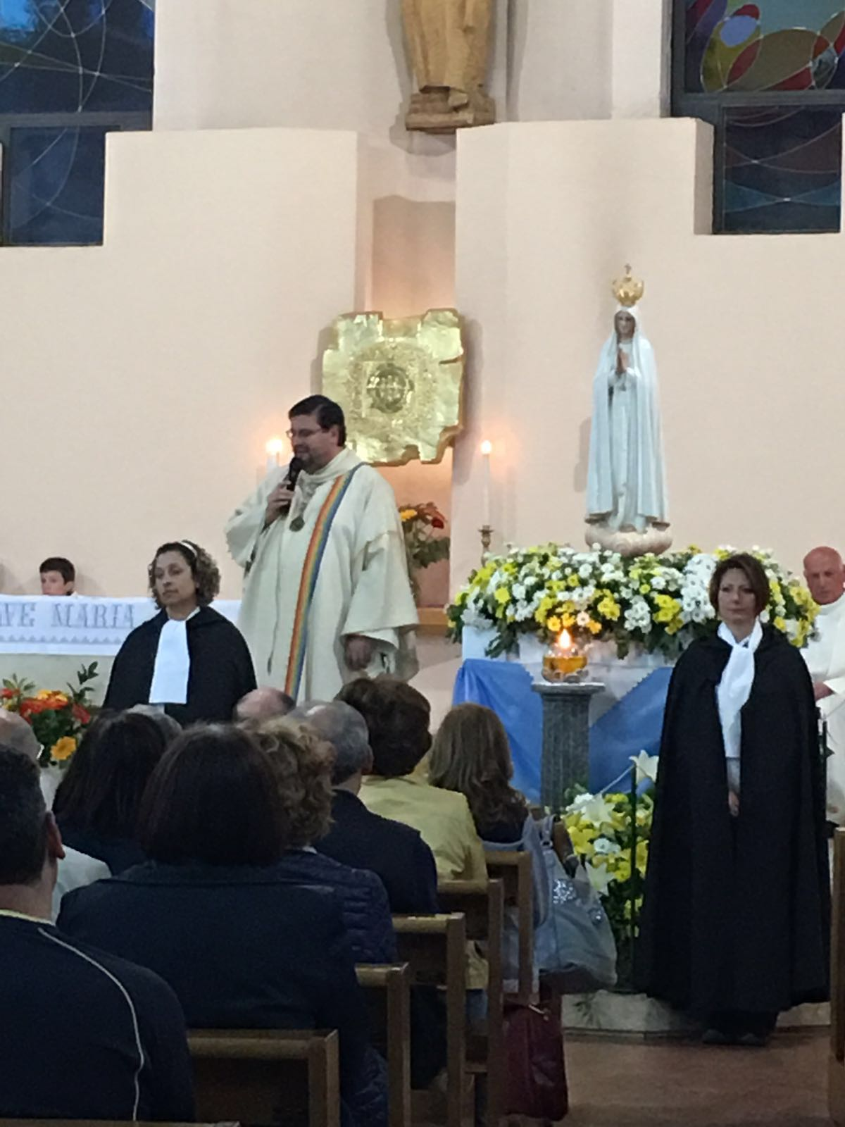 Madonna Pellegrina di Fatima a Milano