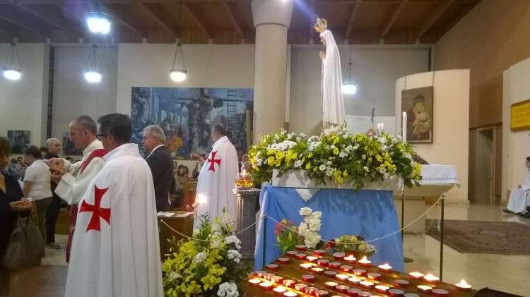 Madonna di Fatima, Milano