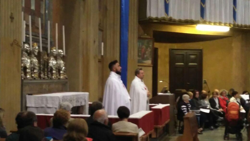 I Templari Cattolici d'Italia partecipano alle celebrazioni di congedo alla Madonna di Fatima ad Olgiate Olona.