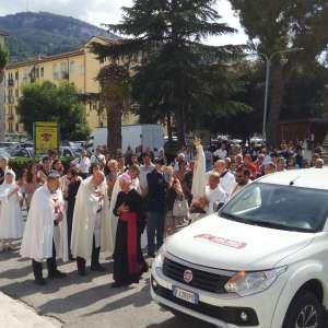 Madonna di Fatima a Ascoli Piceno con S.E. Mons. Giovanni d'Ercole