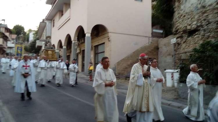 I Templari Cattolici d'Italia partecipano alle celebrazioni per il Santo Patrono della città di Francavilla a Mare, San Franco.