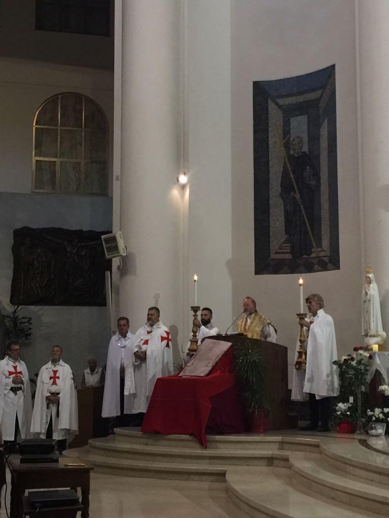 I Templari Cattolici d'Italia propongono la conferenza sulla Sacra Sindone a Lucca.