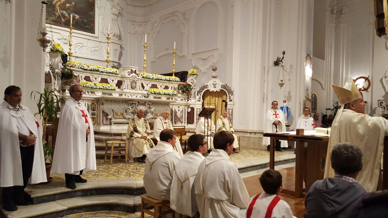 I Templari Cattolici d'Italia in occasione della festività di San Francesco partecipano alla Celebrazione Eucaristica ad Avellino presieduta dal Vescovo Monsignor Pasquale Cascio ad Avellino.
