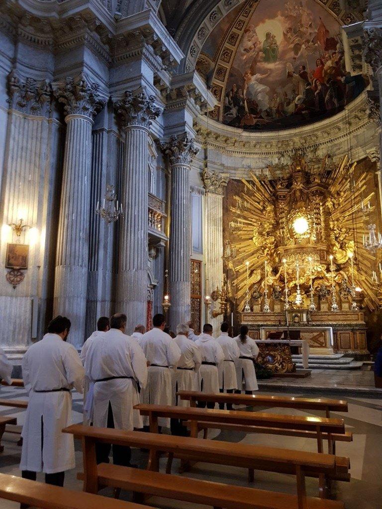 I Templari Cattolici d'Italia prestano servizio alle 4 Basiliche Romane Sabato 2 e Domenica 3 Dicembre 2017.