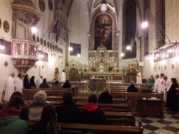 Templari Cattolici d'Italia Chiesa di San Giorgio in Weggenstein a Bolzano