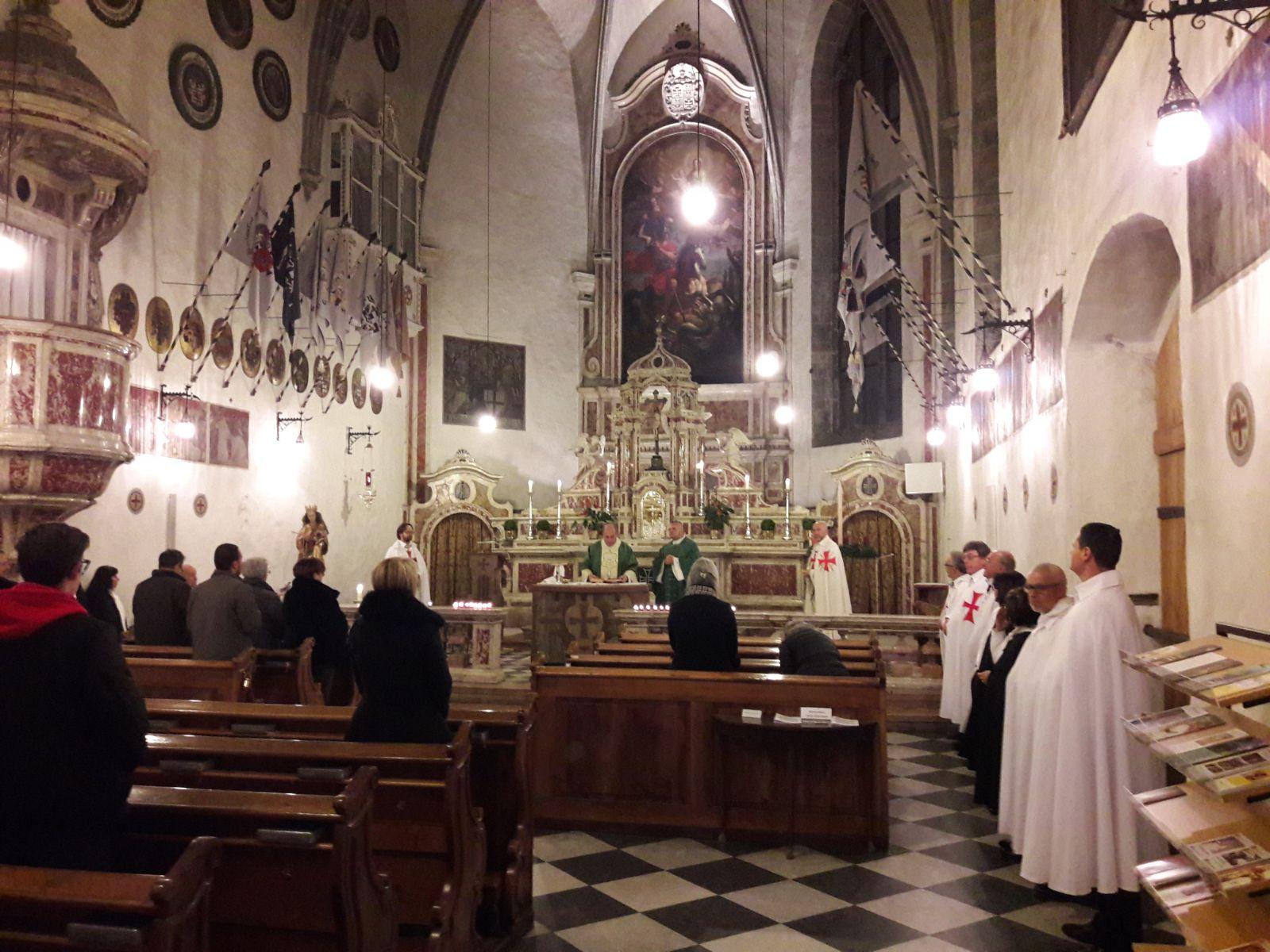 Templari Cattolici d'Italia Chiesa di San Giorgio in Weggenstein Ordine Teutonico a Bolzano