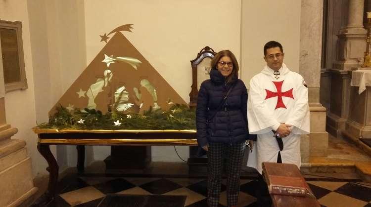 I Templari Cattolici d'Italia prestano servizio settimanale presso la chiesa di San Cristoforo a Udine.