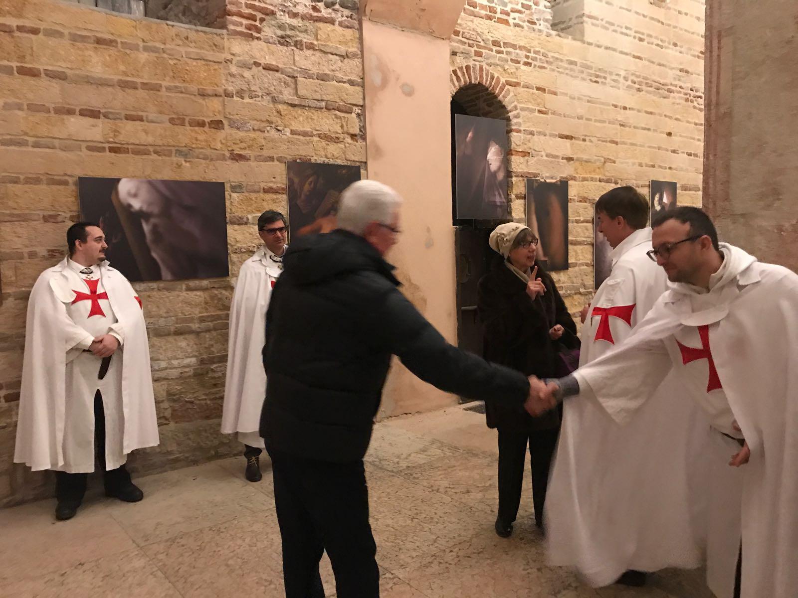 Templari Cattolici d'Italia Verona messa di Natale in San Fermo