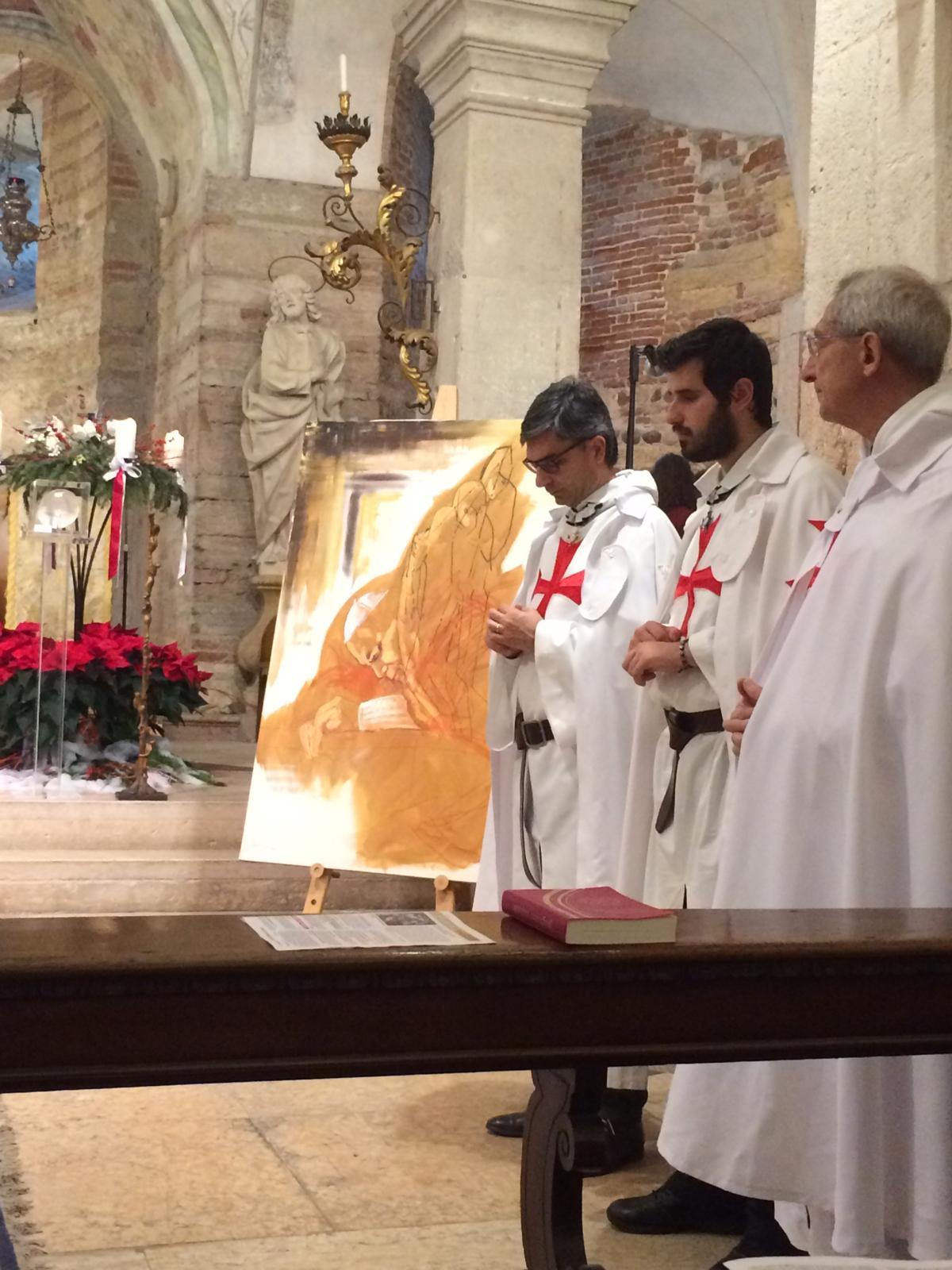 Templari Cattolici d'Italia messa di Natale in San Fermo