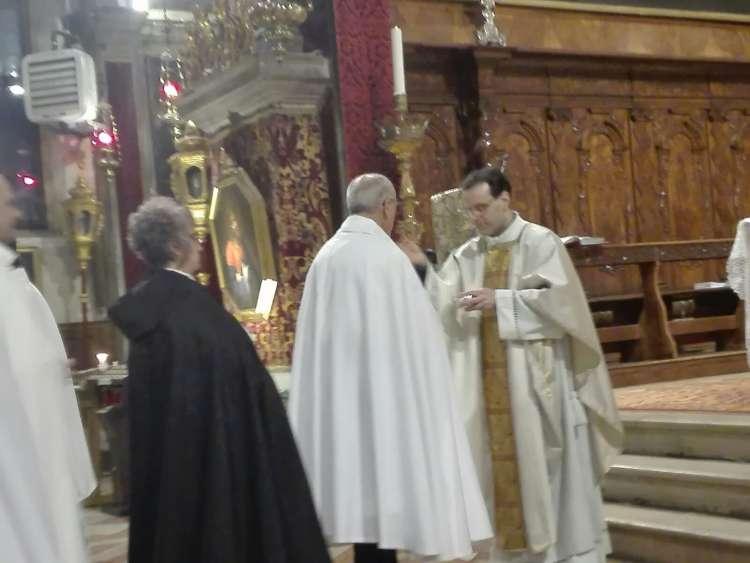 I Templari Cattolici d'Italia partecipano alla celebrazione eucaristica dedicata ai giovani scomparsi prematuramente a Venezia.