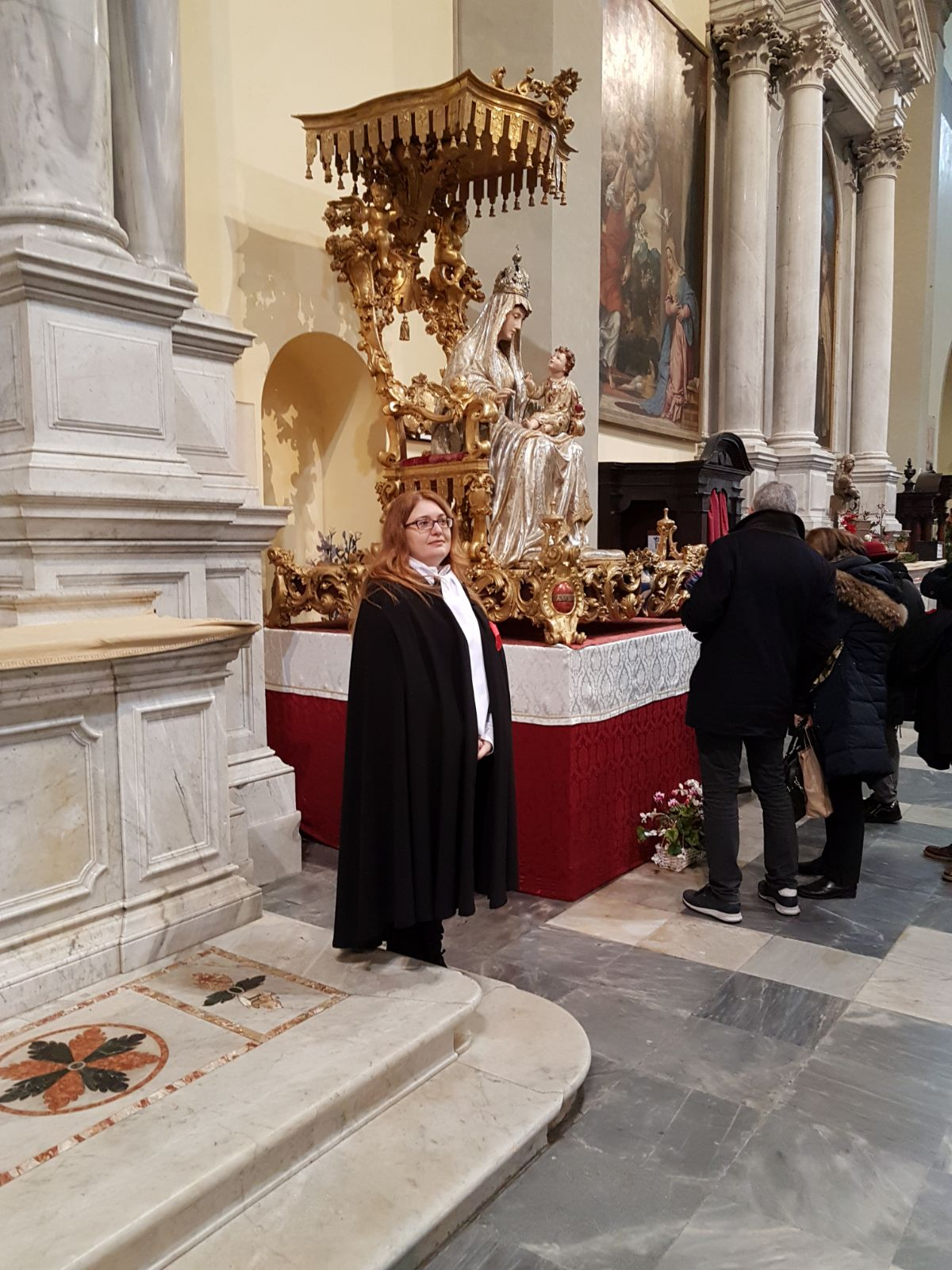 I Templari Cattolici d'Italia partecipano alla Celebrazione Eucaristica solenne dell'Epifania a Cividale del Friuli, conosciuta come
