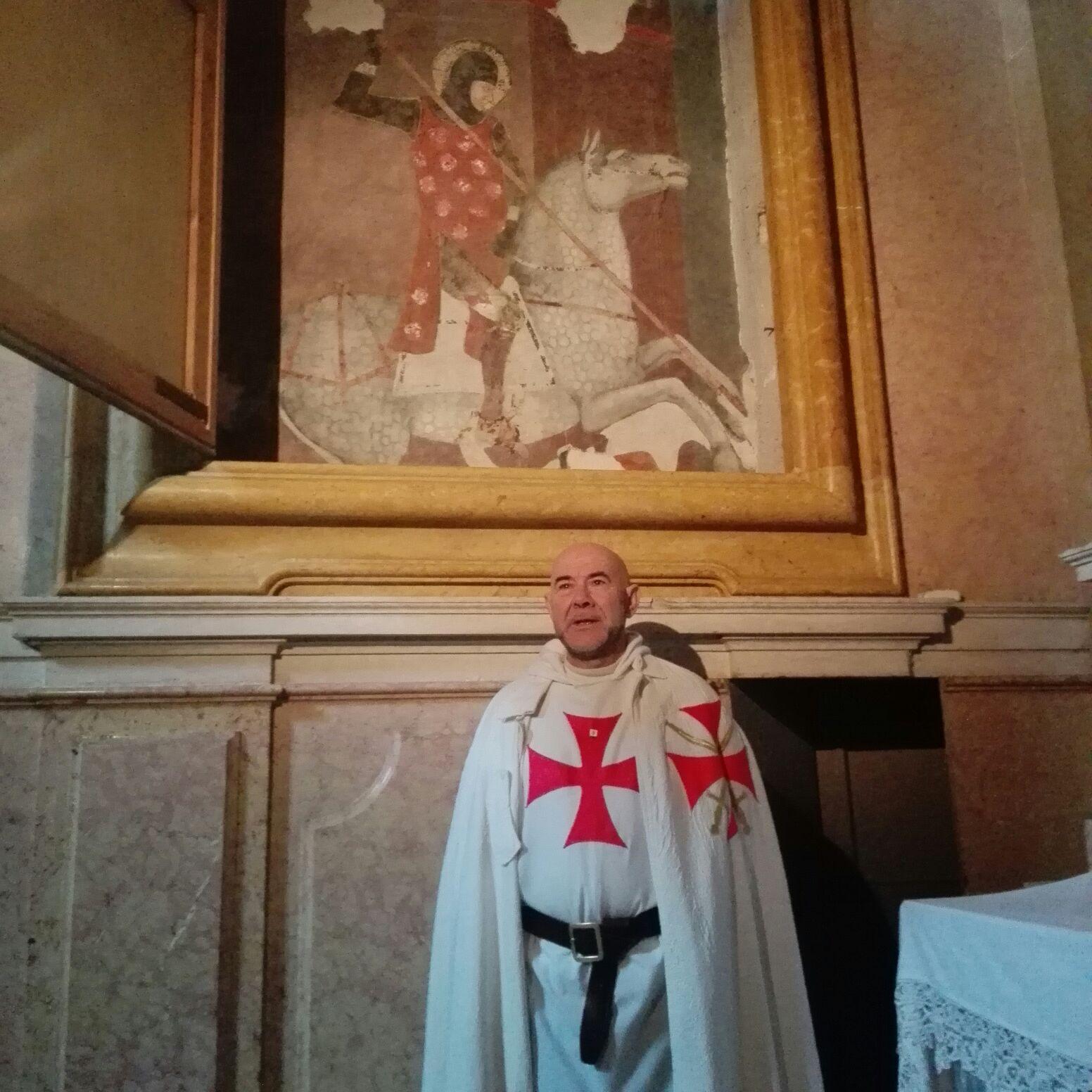 Templari Cattolici d'Italia Verona Magister Fra' Mauro Giorgio Ferretti
