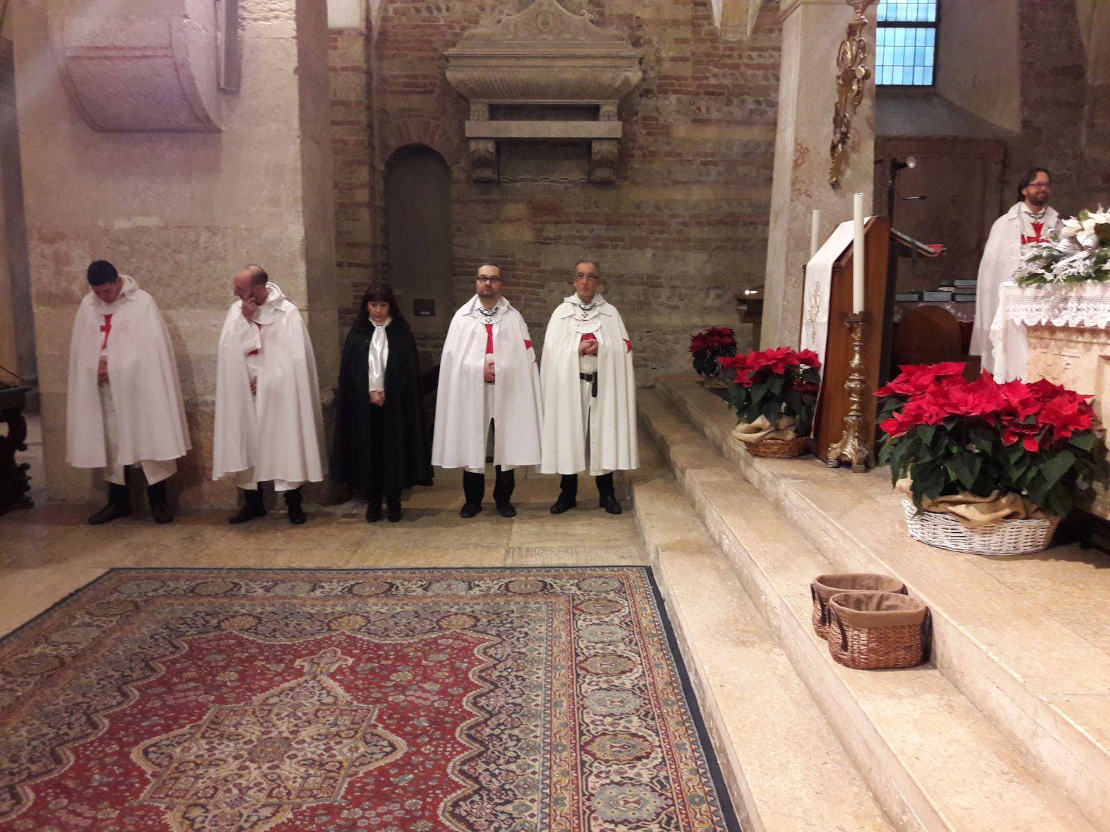 Templari Cattolici d'Italia Verona San Fermo convento Priorato San Zeno