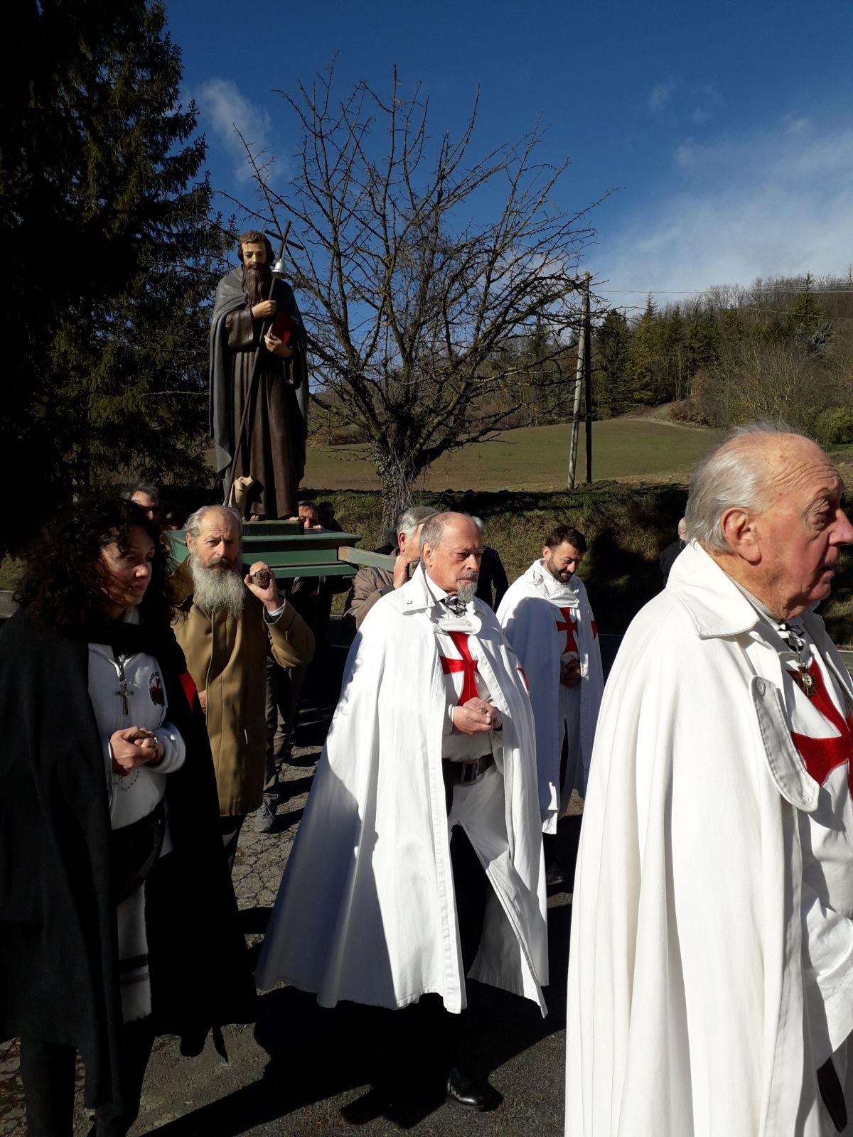 Chiesa di San Michele Arcangelo - Banzola d Salsomaggiore Terme (PR) - Templari foto2
