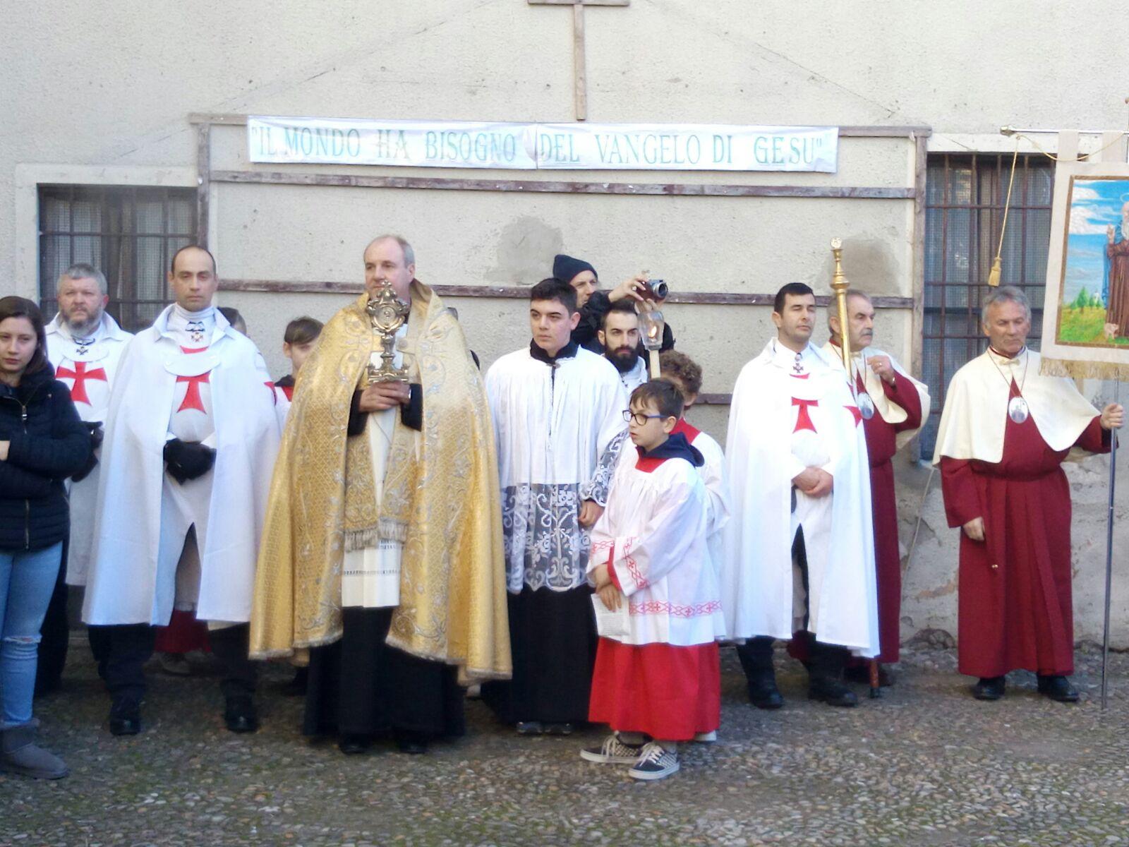templari castelcovati processione s.antonio abate